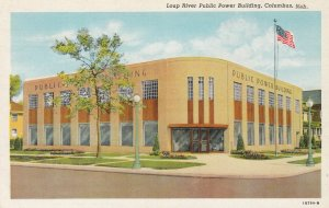 COLUMBUS , Nebraska , 1930-40s ; Loup River Public Power Building