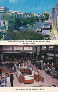 Bahamas Nassau Interior and View Of Location Of The Nassau Shop 1970