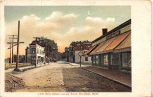 Massachusetts  Mansfield ,  North Main Street looking South