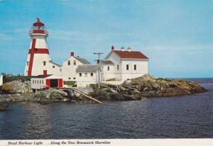 Head Harbor Lighthouse ,New Brunswick , Canada , 50-70s