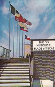 Texas The Six Flags Of Texas