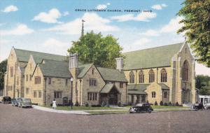 Grace Lutheran Church, FREMONT, Ohio, 1930-1940s