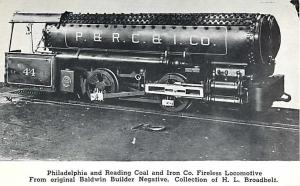 Philadelphia & Reading Coal & Iron Co Fireless Locomotive #