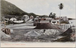 Rock Fort near Kingston Jamaica 1592 Aston Gardner Postcard G99