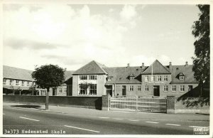 denmark, HEDENSTED, Skole, School (1950s) Stjerne RPPC Postcard