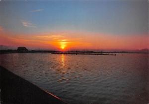 Sonnenuntergang am Speicherbecken Geeste Sunset Landscape