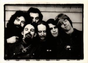 CPM AL4 Grateful Dead, San Rafael, California 1972 ANNIE LEIBOVITZ (d1134)