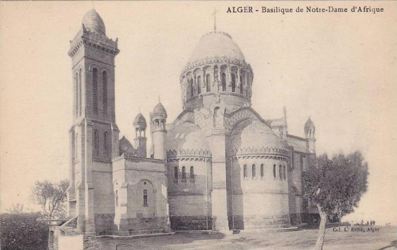 Basilique De Notre-Dame d'Afrique, Alger, Algeria, Africa, 1900-1910s