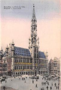 Bruxelles Belgium, Belgique, Belgie, Belgien Hotel de Ville, Town Hall Bruxel...