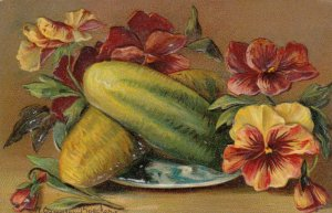 AS: A. GAMMIUS BOECKER, 1908; Still Life, Fruit and flowers