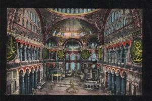 060319 CONSTANTINOPLE Mosquee Ste.Sophie Interior PC
