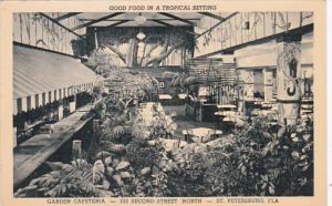Florida St Petersburg Garden Cafeteria 232 Second Street North Curteich