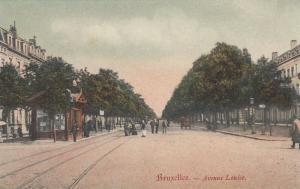 BRUXELLES, Belgium, 1900-1910s ; Avenue Louise