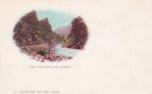 COLORADO, 1901-07 ; Canon of the Grand River