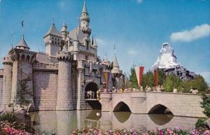 Sleeping Beauty's Enchanted Castle Stands Guard Disneyland