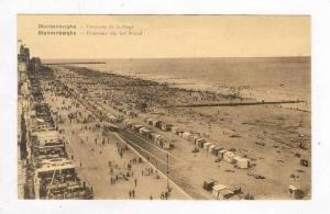 Blankenberge , West Flanders,Belgium,Pu-1936 Panorama de la Plage