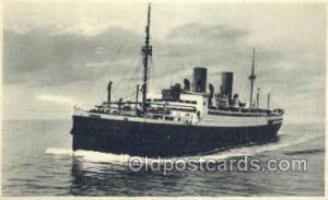 D Munchen Norddeutscher Lloyd, Breman, Ship Postcard Postcards  D Munchen