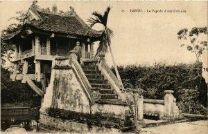 CPA AK INDOCHINA Hanoi La Pagode d'une Colonne VIETNAM (956765)