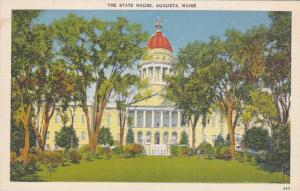 Maine Augusta The State House