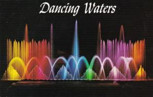 Wisconsin The Dancing Waters Tommy Bartlett Water Shi Show Dells Of The Wisco...