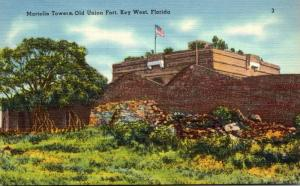 Florida Key West Martello Towers Old Union Fort
