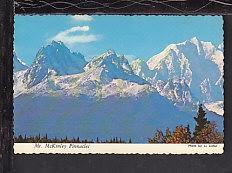 Mt McKinley,Alaska Postcard BIN
