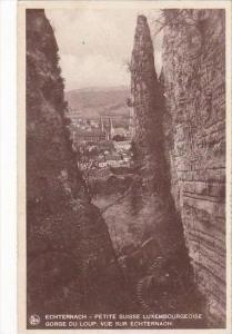 Luxemburg Echternach Vue Sur Echternach 1937