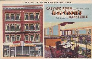 Michigan Detroit Kartsen's Cafeteria Cascade Room