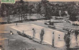 Goffs Falls New Hampshire The Elms Tennis Court Vintage Postcard JD933890