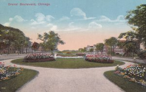 CHICAGO, Illinois, 1900-10s; Drexel Boulevard