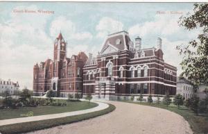Exterior, Court- House, Winnipeg, Manitoba, Canada, 00-10s