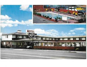 San Carlos Travel Inn Motel El Camino Real San Carlos California
