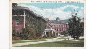 Bancroff & Tellinger Halls , Winthrop College , ROCK HILL , PU-1931