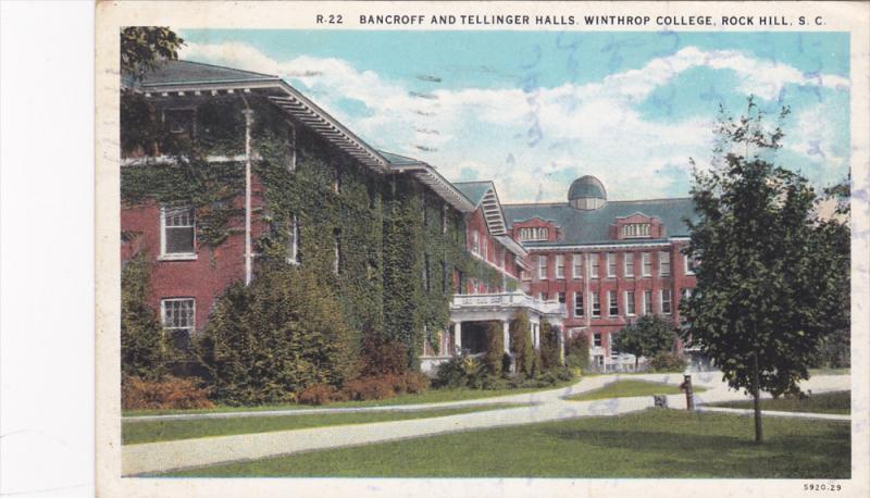 Bancroff & Tellinger Halls , Winthrop College , ROCK HILL , PU-1931