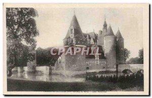 Old Postcard Chateau du Moulin Cote Nord Est