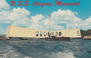 PEARL HARBOR , Hawaii , 50-60s ; USS ARIZONA Memorial