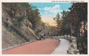 ZANESVILLE, Ohio, 1900-10s; View on the Dug Road