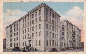 Post Office , DALLAS , Texas , PU-1944