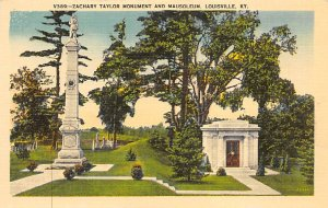 Zachary Taylor monument and mausoleum Louisville KY