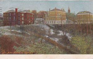 New York Troy R P I Institute Troy 1907