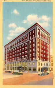 Ohio Steubenville Fort Steuben Hotel Curteich
