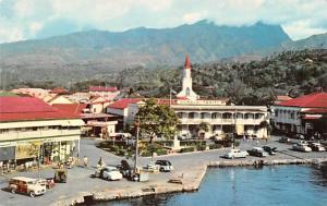 Papeete Tahiti Glimpse of Papeete Glimpse of