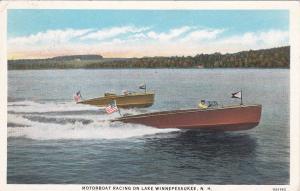 Motorboat Racing , Lake Winnepesaukee , New Hampshire , 1910s