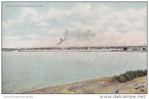 Birds Eye View Of Dunkirk New York