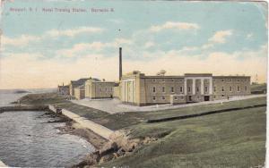 NEWPORT , Rhode Island , PU-1912; Naval Training Station, Barracks B
