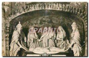 Postcard Old Cerilly Allier Interior of the Church St Sepulcher