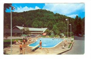 Twin Island Motel,on the Little Pigeon River, In the Great Smoky Mountains, G...