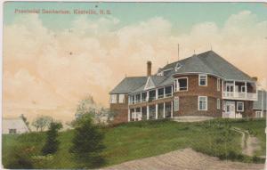 KENTSVILLE , Nova Scotia , Canada , PU-1908 ; Sanitarium