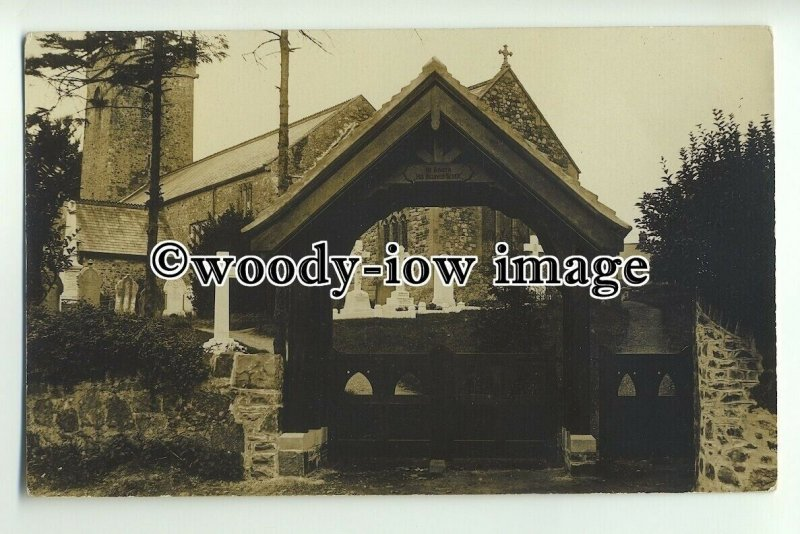 cu1886 - View of Unknown Church & Cemetry, in Unknown County - Postcard