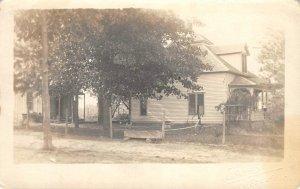 RPPC Mountain Grove, Missouri Ranch House ca 1910s Vintage Real Photo Postcard